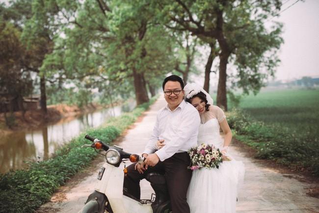 Cặp đôi chụp ảnh tái hiện 100 năm lễ cưới Việt Nam  - ảnh 9