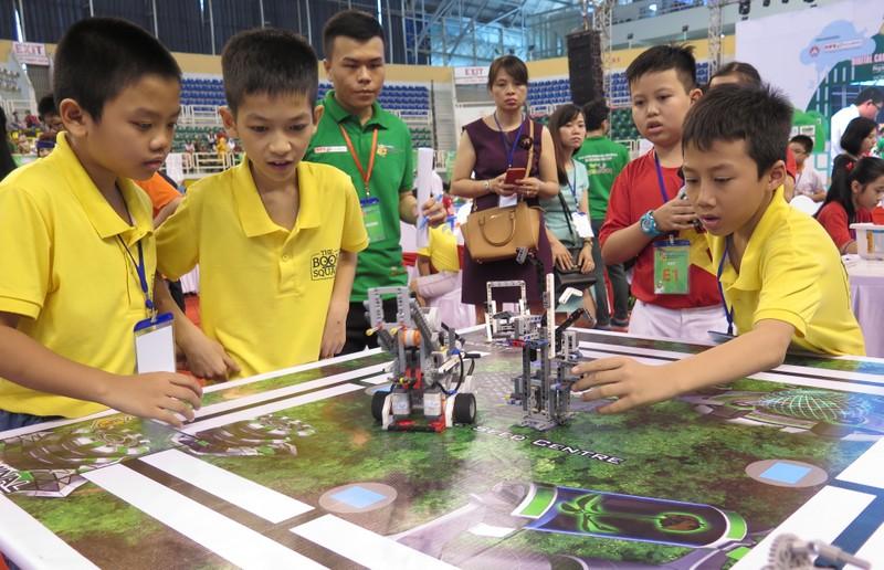 Ngày hội Robocon Quốc tế 2015 quy tụ 121 đội thi - ảnh 5