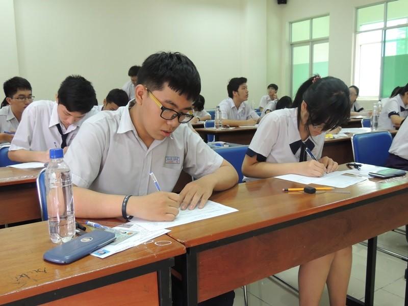 TP.HCM: Gần 56.000 học sinh thi THPT quốc gia tại bốn cụm - ảnh 1