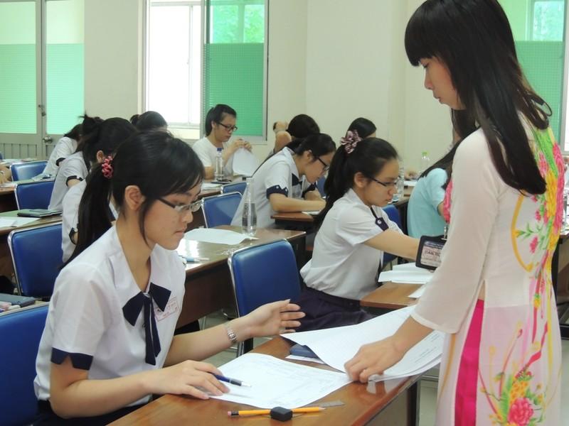 TP.HCM: Gần 2.300 thí sinh chỉ thi để xét tốt nghiệp THPT - ảnh 1
