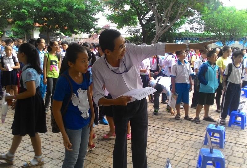 Bắt đầu phát hành đơn dự tuyển vào lớp 6 Trường Trần Đại Nghĩa - ảnh 1