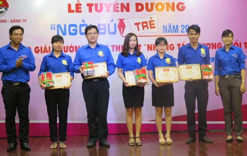 Tuyên dương 16 cá nhân và tập thể đạt giải thưởng Ngòi Bút Trẻ lần 8 - ảnh 4