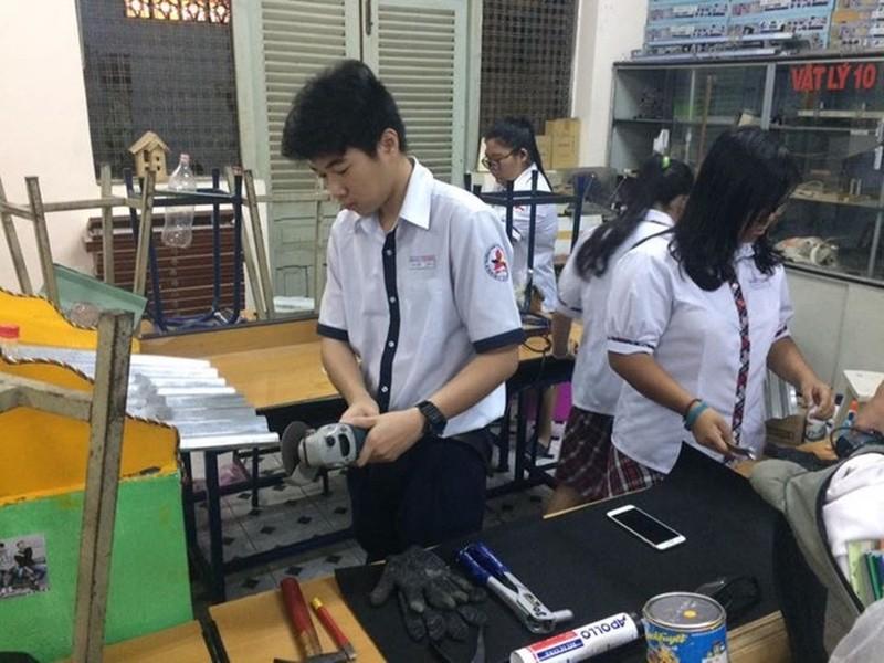 Lớp học thành xưởng cơ khí, thầy trò làm kỹ sư - ảnh 6