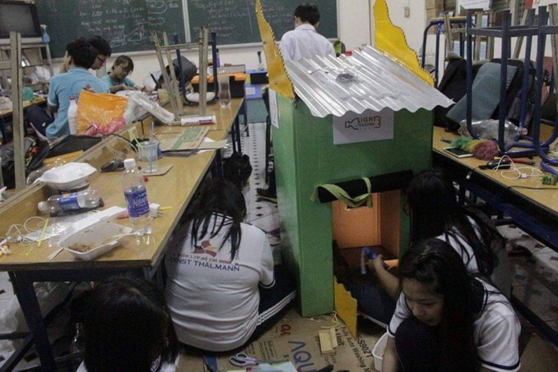 Lớp học thành xưởng cơ khí, thầy trò làm kỹ sư - ảnh 5