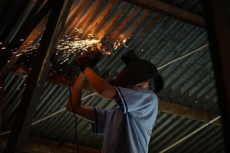 Lớp học thành xưởng cơ khí, thầy trò làm kỹ sư - ảnh 19