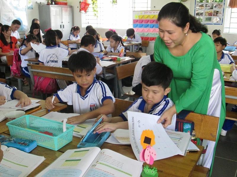 TP.HCM tiếp tục duy trì mô hình trường học mới VNEN - ảnh 1