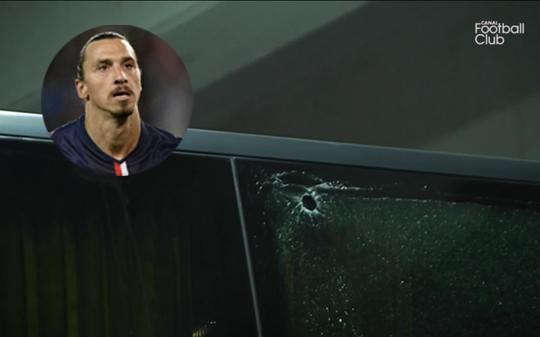 PSG bị CĐV tấn công, Ibra may mắn thoát hiểm - ảnh 1