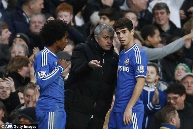 Chống đối Mourinho, Oscar bán xới khỏi Chelsea? - ảnh 1