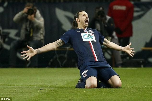 """Ibrahimovic """"nổi điên"""", PSG lọt vào chung kết - ảnh 1"""