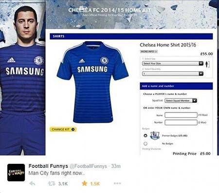 """Chùm ảnh hài hước """"hậu"""" Derby thành Manchester: Tử thần vẫy gọi Chelsea - ảnh 5"""