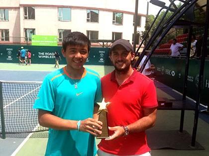 Lý Hoàng Nam lần đầu vô địch giải B1 ITF - ảnh 1