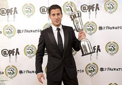 Hazard là cầu thủ hay nhất năm ở Premier League - ảnh 1