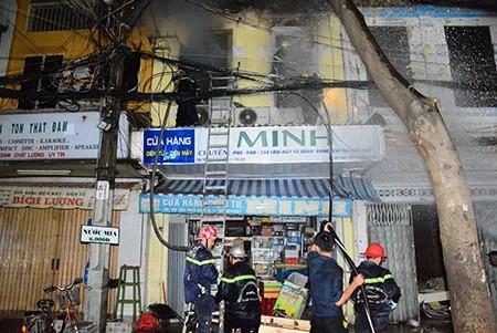 Xác định danh tính nạn nhân trong vụ cháy cửa hàng điện tử quận 1 - ảnh 3