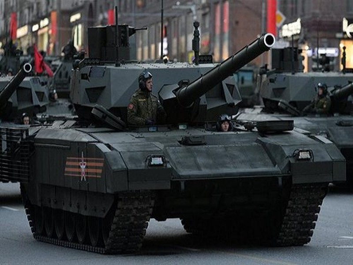 Báo Mỹ: Xe tăng Armata của Nga