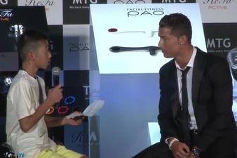 Khi Cristiano Ronaldo cũng có trái tim vàng - ảnh 1