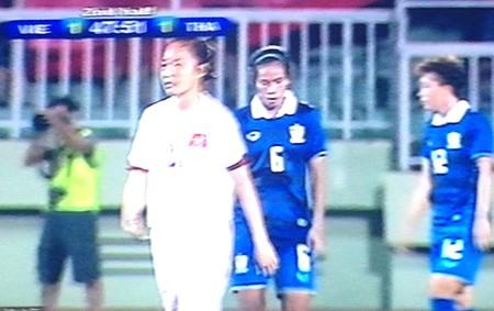 Việt Nam - Thái Lan (1-2, AET): Ngược dòng thành công, nữ Thái Lan vào chung kết - ảnh 1
