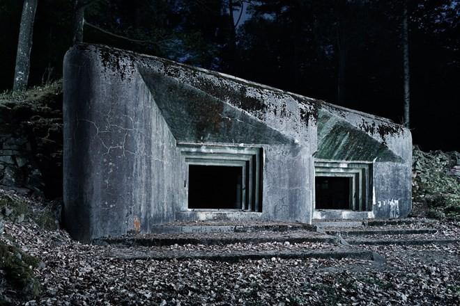 Hình ảnh boongke Đức quốc xã bỏ hoang 70 năm sau Thế chiến II - ảnh 5