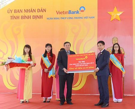 VietinBank tri ân với Bình Định - ảnh 1
