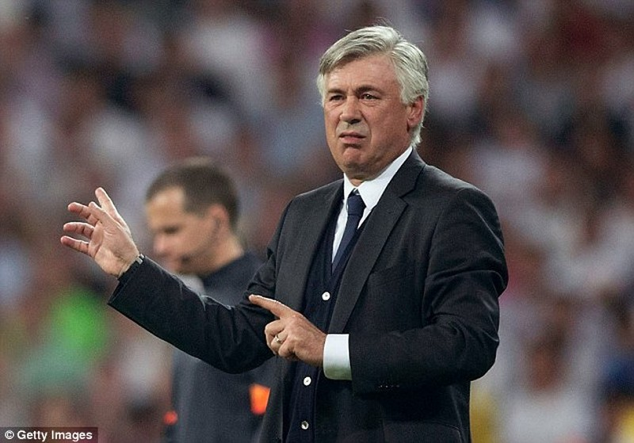 Ancelotti ký hợp đồng nháp với Man City - ảnh 1