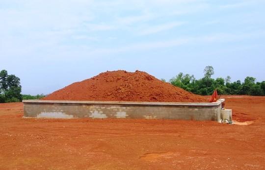 Ngôi mộ lớn được phát hiện nghi là mộ cổ ở Thanh Hóa