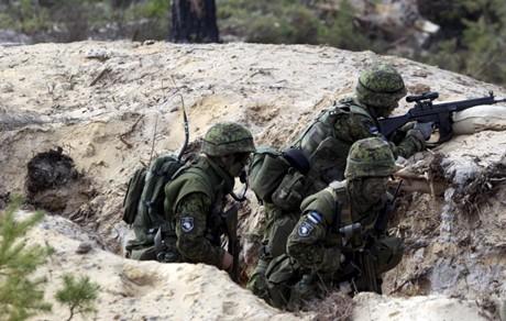Cuộc tập trận tại Estonia (Ảnh: