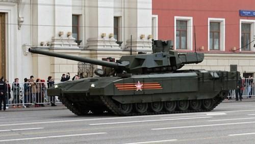 10 điều cần biết về siêu xe tăng chủ lực Armata T-14 của Nga - ảnh 1