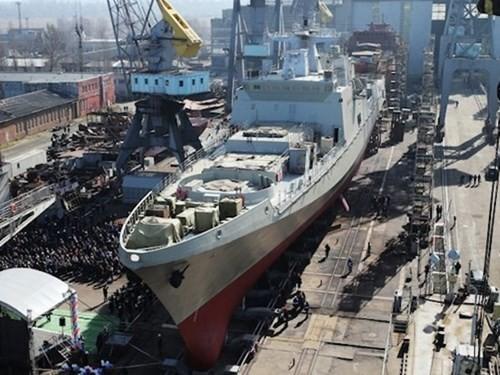 Ấn Độ - Nga có thể hợp tác chế tạo các tàu hộ tống hiện đại - ảnh 1