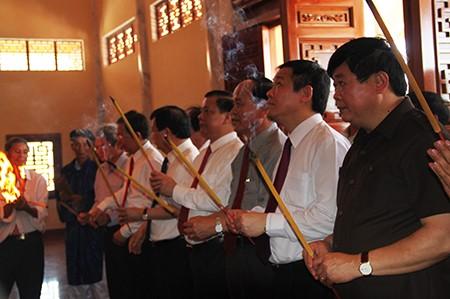 Khánh thành khu tưởng niệm Nguyễn Sinh Sắc - ảnh 2