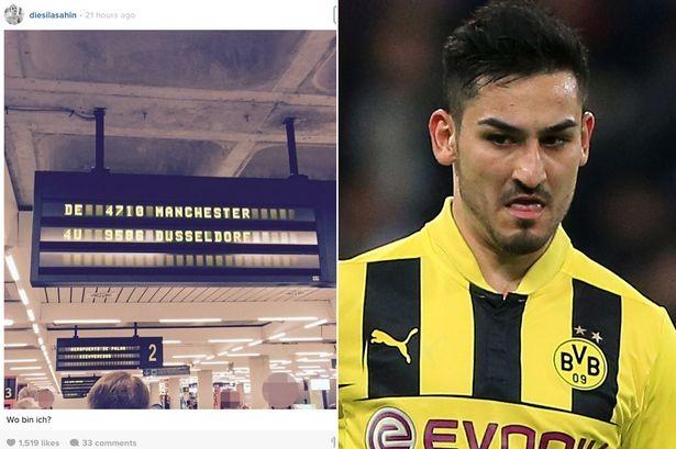 Bạn gái tiết lộ Gundogan đáp máy bay tới Manchester - ảnh 1