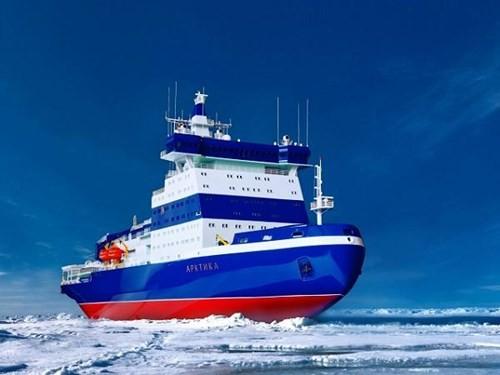 Nga khởi đóng chiếc tàu phá băng hạt nhân thứ 2 - ảnh 1