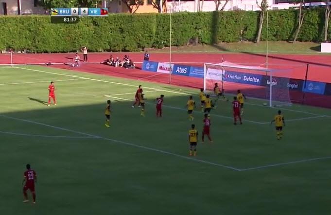 U23 Việt Nam 6-0 U23 Brunei: Hiệp 1 mờ nhạt, hiệp 2 bùng nổ - ảnh 4