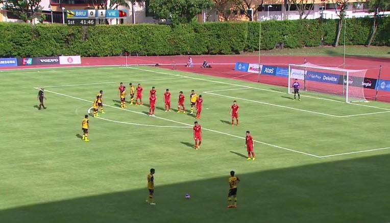 U23 Việt Nam 6-0 U23 Brunei: Hiệp 1 mờ nhạt, hiệp 2 bùng nổ - ảnh 19