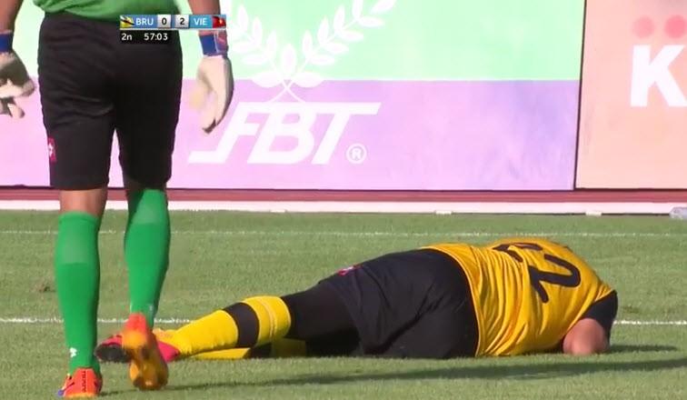 U23 Việt Nam 6-0 U23 Brunei: Hiệp 1 mờ nhạt, hiệp 2 bùng nổ - ảnh 13