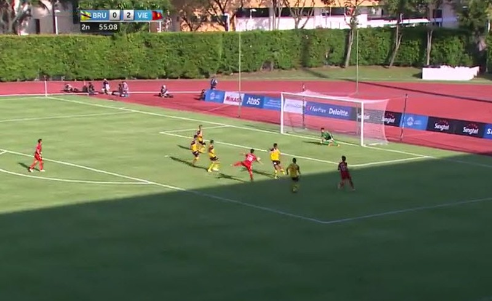 U23 Việt Nam 6-0 U23 Brunei: Hiệp 1 mờ nhạt, hiệp 2 bùng nổ - ảnh 14
