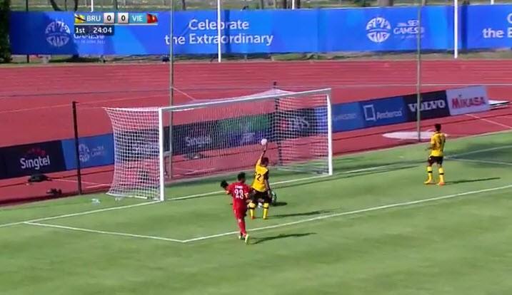 U23 Việt Nam 6-0 U23 Brunei: Hiệp 1 mờ nhạt, hiệp 2 bùng nổ - ảnh 23