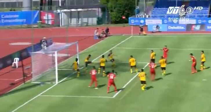 U23 Việt Nam 6-0 U23 Brunei: Hiệp 1 mờ nhạt, hiệp 2 bùng nổ - ảnh 28