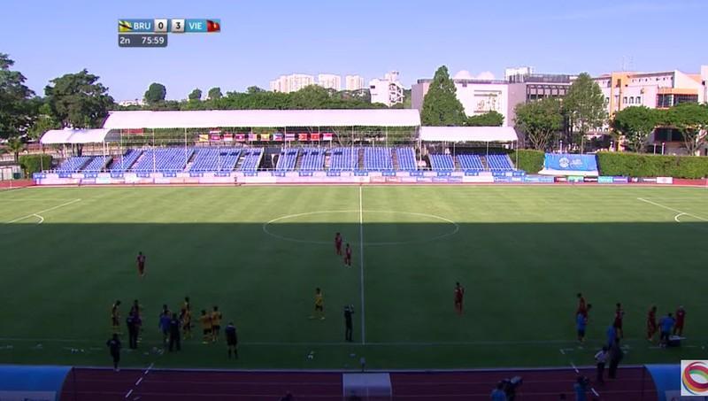 U23 Việt Nam 6-0 U23 Brunei: Hiệp 1 mờ nhạt, hiệp 2 bùng nổ - ảnh 9