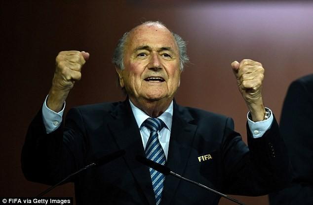 Sepp Blatter tái đắc cử chủ tịch FIFA lần thứ 5 - ảnh 1