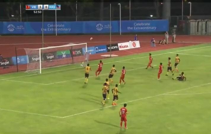 Công Phượng tỏa sáng, U23 Việt Nam đè bẹp U23 Malaysia - ảnh 3