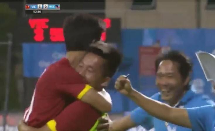 Công Phượng tỏa sáng, U23 Việt Nam đè bẹp U23 Malaysia - ảnh 11