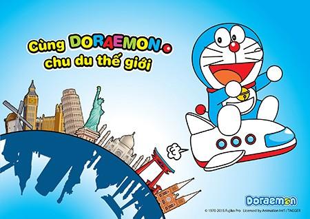 Mì Doraemon tổ chức sân chơi hè cho trẻ - ảnh 1