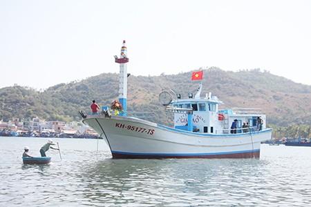 Chạy thử tàu cá đầu tiên đóng từ vốn vay theo Nghị định 67 - ảnh 3