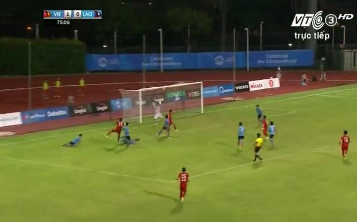 Vất vả vượt qua U23 Lào, U23 Việt Nam đòi lại ngôi đầu bảng - ảnh 4