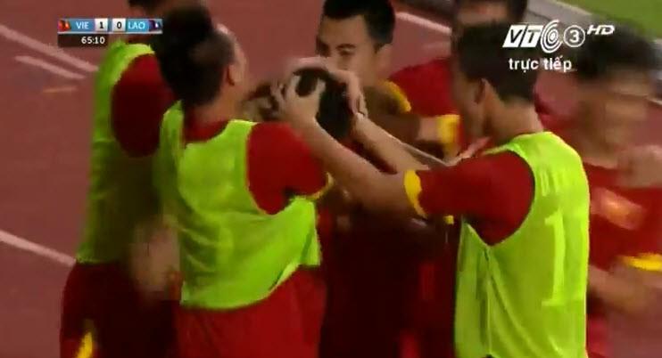 Vất vả vượt qua U23 Lào, U23 Việt Nam đòi lại ngôi đầu bảng - ảnh 8