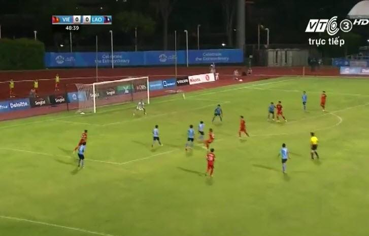 Vất vả vượt qua U23 Lào, U23 Việt Nam đòi lại ngôi đầu bảng - ảnh 10