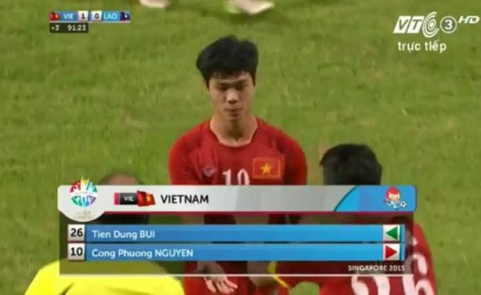 Vất vả vượt qua U23 Lào, U23 Việt Nam đòi lại ngôi đầu bảng - ảnh 3