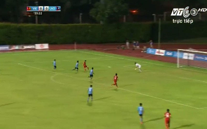 Vất vả vượt qua U23 Lào, U23 Việt Nam đòi lại ngôi đầu bảng - ảnh 12