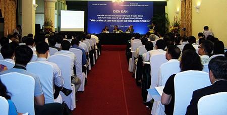 Trí thức Việt ở nước ngoài hiến kế phát triển kinh tế, hội nhập - ảnh 1