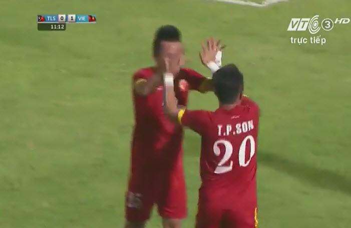 Quế Ngọc Hải 'lên đồng', U23 Việt Nam đè bẹp U23 Đông Timor - ảnh 13