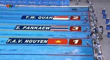 Ánh Viên làm dậy sóng đường bơi, lần thứ 7 phá kỷ lục SEA Games - ảnh 2
